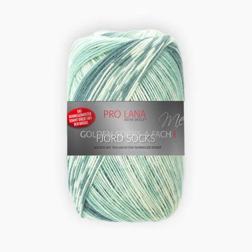 Pro Lana Fjord Socks von Pro Lana, Mint Color
