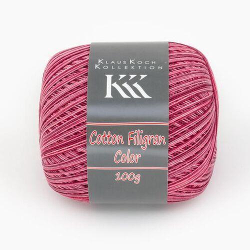 KKK Cotton Filigran Color von KKK, Rot-Color