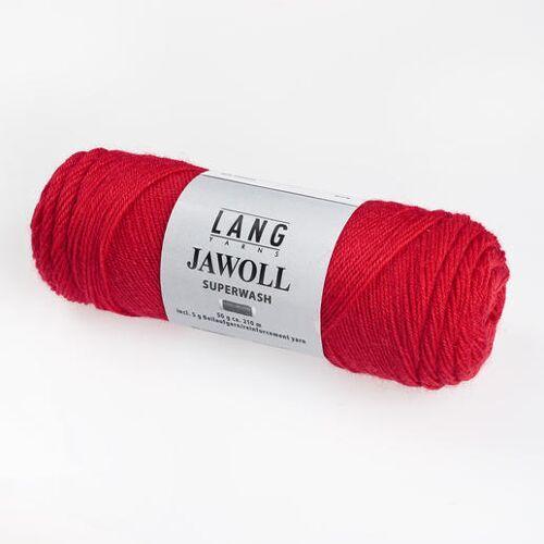 LANG Yarns JAWOLL Superwash von Lang Yarns, Rot
