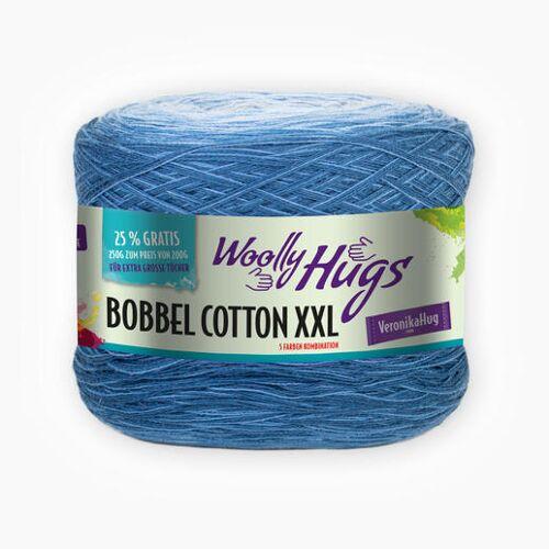 Woolly Hugs Bobbel Cotton XXL von Woolly Hugs, Blau