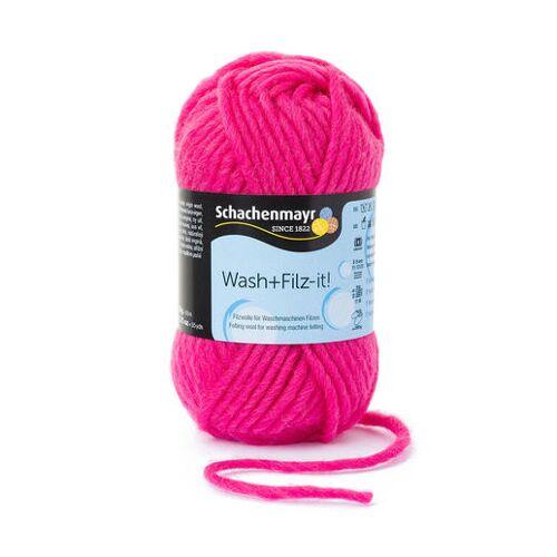 Schachenmayr Wash+Filz-it! von Schachenmayr, Pink