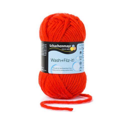 Schachenmayr Wash+Filz-it! von Schachenmayr, Red