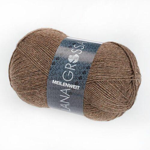 Lana Grossa Sockenwolle Meilenweit 100 von Lana Grossa, Taupe