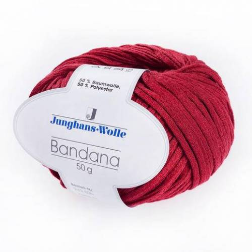 Junghans-Wolle Bandana von Junghans-Wolle, Rot