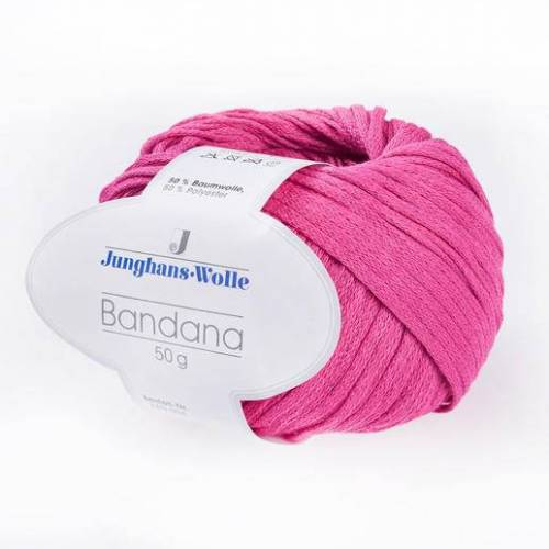 Junghans-Wolle Bandana von Junghans-Wolle, Pink