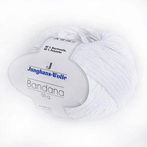 Junghans-Wolle Bandana von Junghans-Wolle, Weiß
