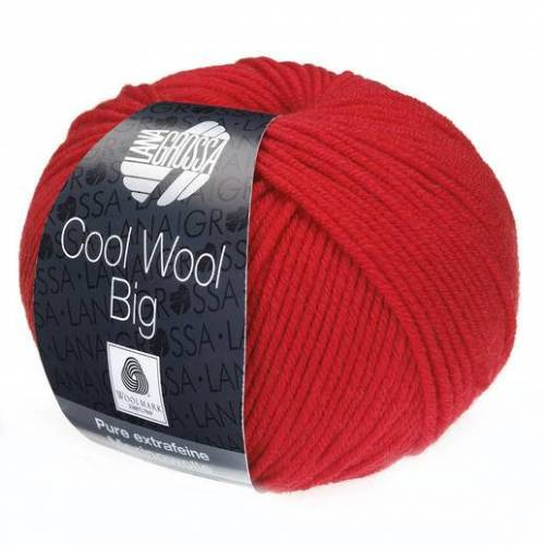 Lana Grossa Cool Wool Big von Lana Grossa, Rot