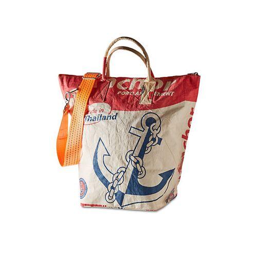 Bead Bags Damen Tasche Elske rot-Anker