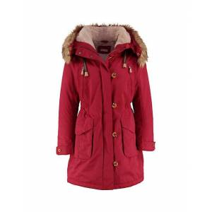 Deerberg Damen Outdoor-Mantel Alise rot - auch in Übergrößen