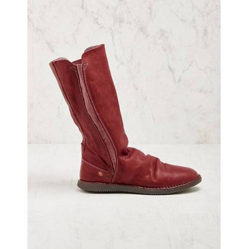 Softinos Damen Stiefel Teya rot Boots