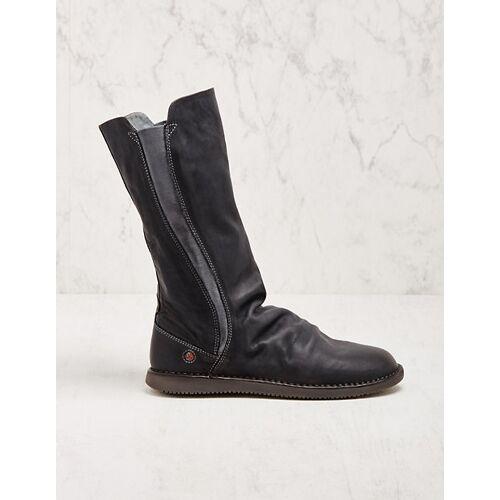 Softinos Damen Stiefel Teya grau Boots
