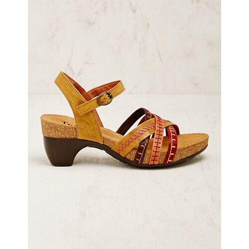 Think Damen Sandalen Fleta gelb sandaletten