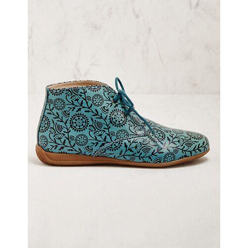 Deerberg Damen Stiefeletten Theida türkis Boots