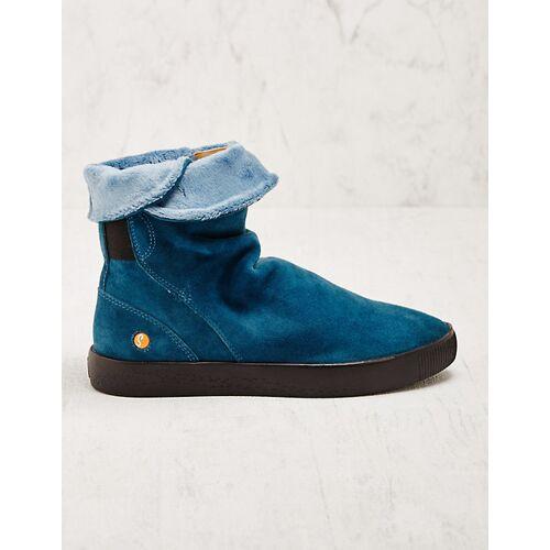 Softinos Damen Stiefeletten Helida blau Boots