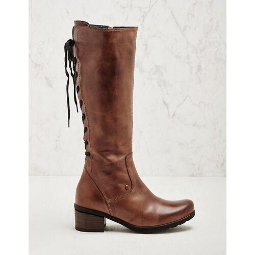 Wolky Damen Stiefel Seoul cognac Boots