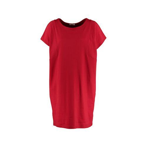 Deerberg Damen Sweat-Kleid Sintje rot - auch in Übergrößen