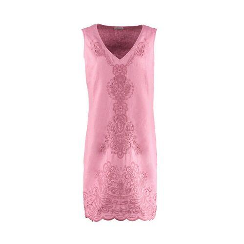 Deerberg Damen Leinen-Kleid Fumane heiderose - auch in Übergrößen