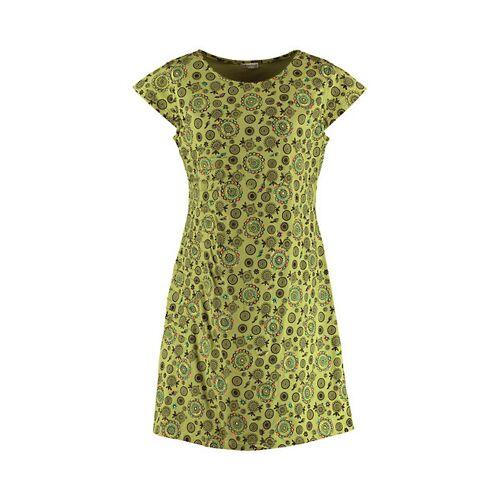 Deerberg Damen Jersey-Kleid Netis grün - auch in Übergrößen