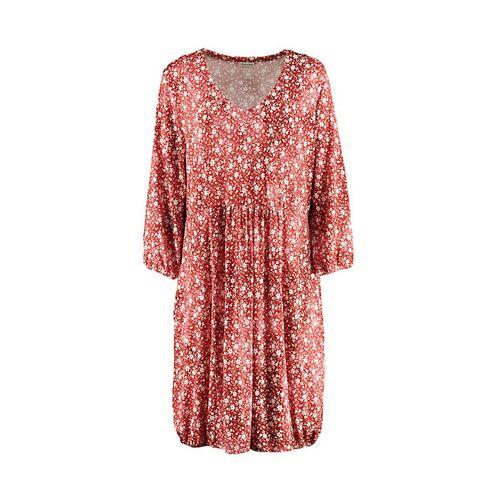 Deerberg Damen Jersey-Kleid Brinja rot - auch in Übergrößen