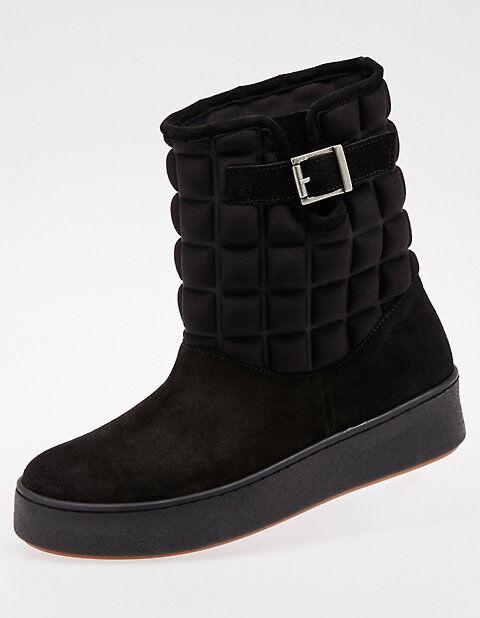 Deerberg Damen Stiefeletten Becke schwarz Boots