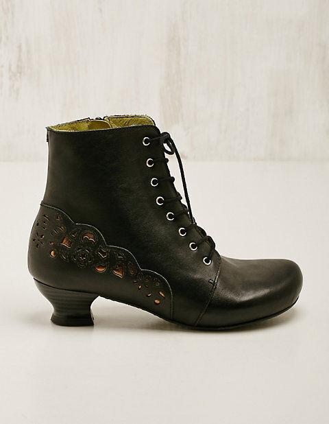 Deerberg Damen Leder-Stiefeletten Jarla Boots