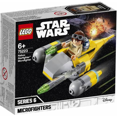 Lego Star Wars TM 75223 Naboo Starfighter Microfighter
