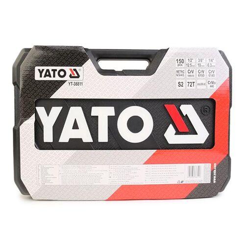 YATO Werkzeugset  YT-38811 Werkzeugsatz,Steckschlüsselsatz,Werkzeug Set,Werkzeug Kit