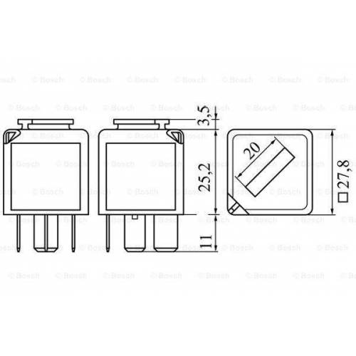 Bosch 0 986 332 053 01030360,1030360,13A025G  93BG13A025A1B