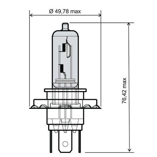RMS Glühbirnen  24 651 0065 Glühbirne,Birnen,Birne