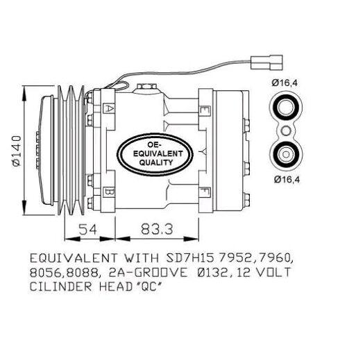NRF Kompressor  32274 Klimakompressor,Klimaanlage Kompressor