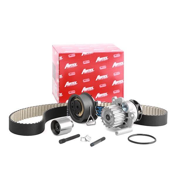 AIRTEX Wasserpumpe + Zahnriemensatz VW,AUDI,FORD WPK-177603 Wasserpumpe + Zahnriemenkit