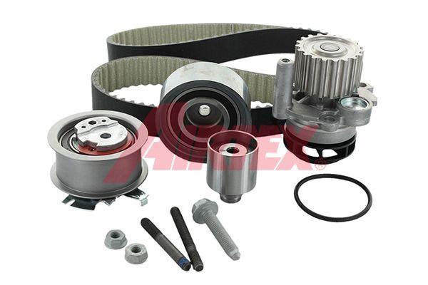 AIRTEX Wasserpumpe + Zahnriemensatz VW,AUDI,SKODA WPK-199803 Wasserpumpe + Zahnriemenkit