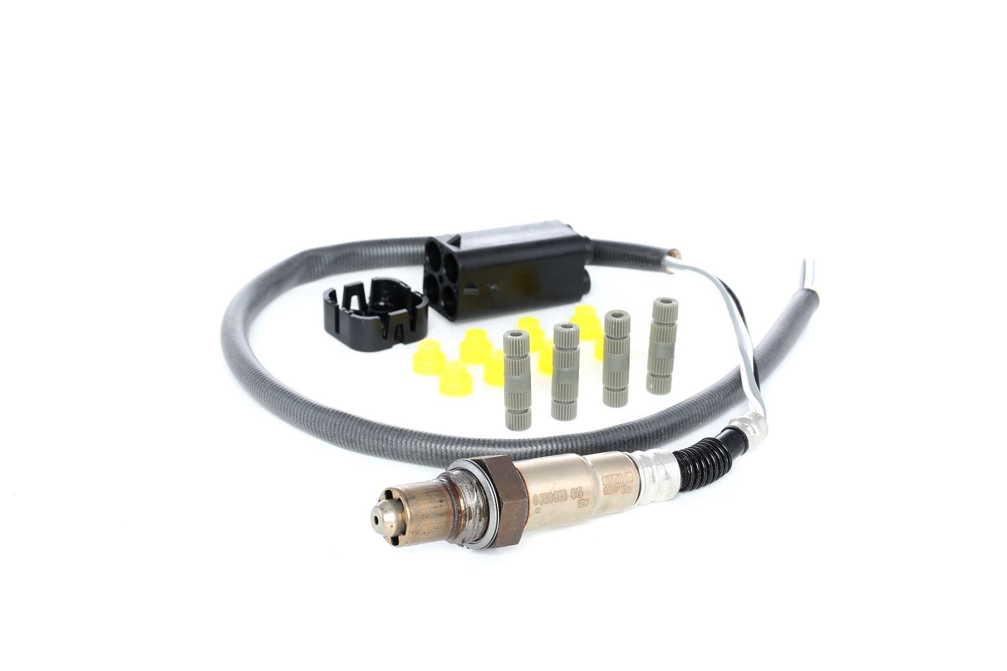 Bosch Lambdasonde VW,AUDI,ABARTH 0 258 986 615 46447510,46760863,46760865 Lambda Sensor,Regelsonde 46762182,46764207,46786048,06A906262AG,077906265J