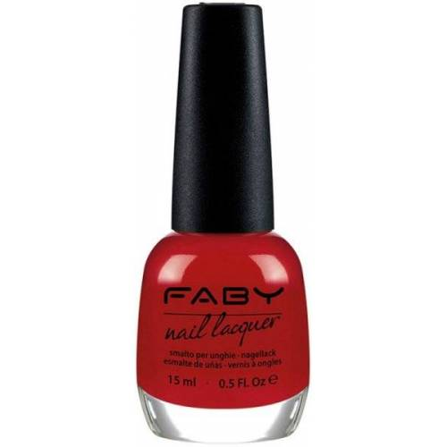 Faby Nagellack Classic Collection Faby Nagellack 'S Red 15 ml