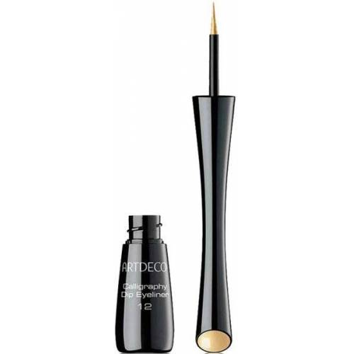 Artdeco Calligraphy Dip Eyeliner 12 gold Matt 2,5 ml