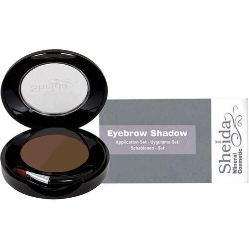 Sheida Set - Sheida Eyebrow Shadow (2) 4,5 g + Schablonen Augenbrauenpuder