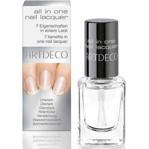 Artdeco All in One Nail Lacquer transparent 10 ml Nagellack