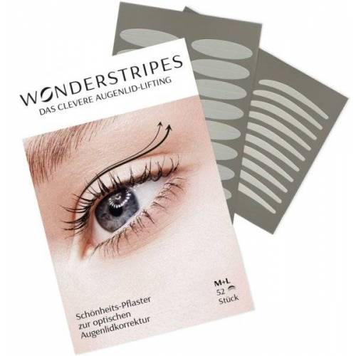 Wonderstripes Gr. M+L, 32 + 20 Stk. Augenlid-Tape