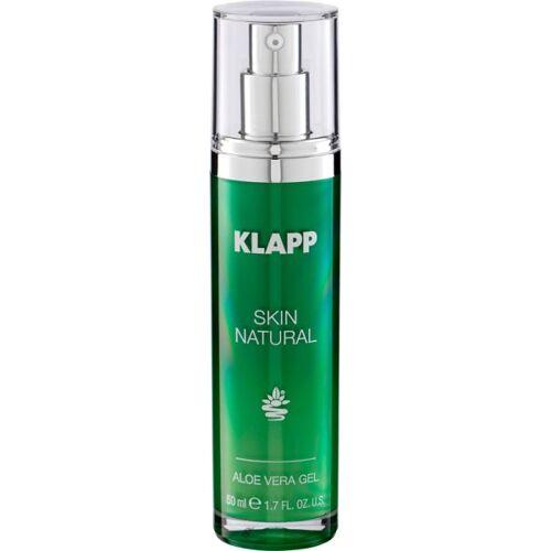 Klapp Cosmetics Klapp Skin Natural Aloe Vera Gel 50 ml Gesichtsgel