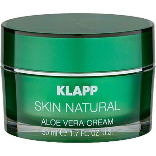 Klapp Cosmetics Klapp Skin Natural Aloe Vera Cream 50 ml Gesichtscreme