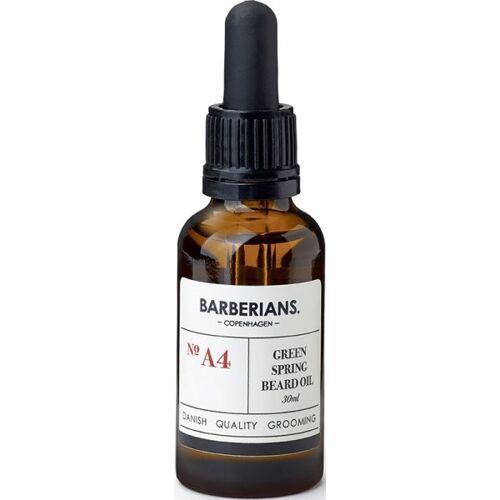 Barberians Grooming Green Spring Beard Oil 30 ml Bartöl