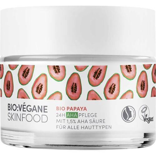 Bio:Végane Skinfood Bio:Végane Skinfood Bio Papaya 24h AHA Pflege 50 ml Gesichtscreme