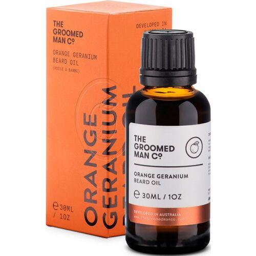 The Groomed Man Co. The Groomed Man Orange Geranium Beard Oil 30 ml Bartöl
