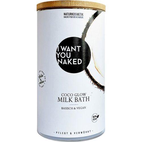 I Want You Naked Kokos-Milchbad - Kokosnuss & Vitamin E 400 g Bademil