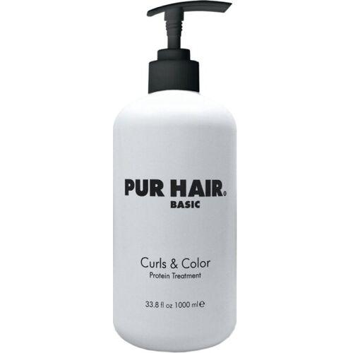 Pur Hair Curls & Color Protein Treatment 1000 ml Haarkur
