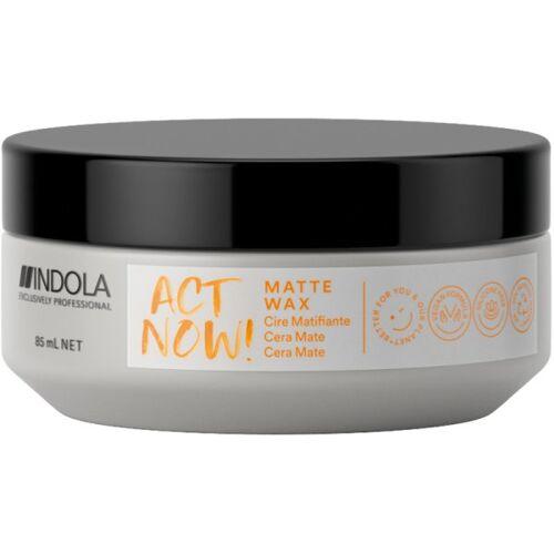 Indola ACT NOW! Matte Wax 85 ml Haarwachs