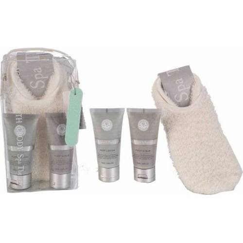 Accentra Badeset Spa Therapy in PVC Tasche Fußpflegeset