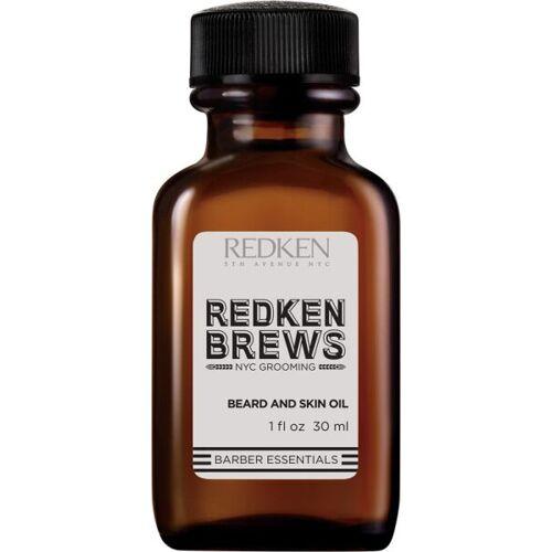 Redken Brews Beard and Skin Oil 30 ml Bartöl