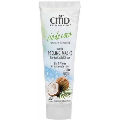 CMD Naturkosmetik Rio de Coco Peeling-Maske 50 ml Gesichtspeeling