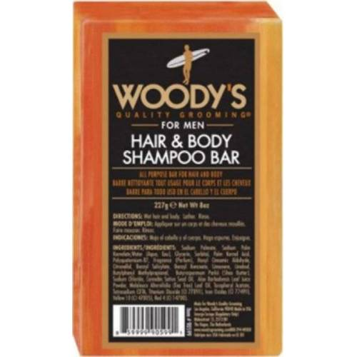 Woody's Hair & Body Shampoo Bar 227 g Festes Shampoo